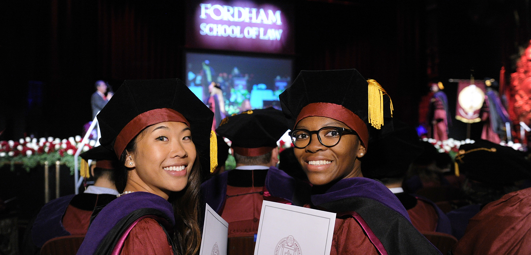 Fordham Law School graduates