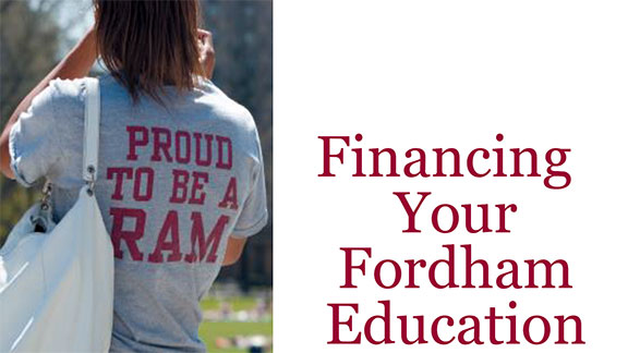 Financing your Fordham education