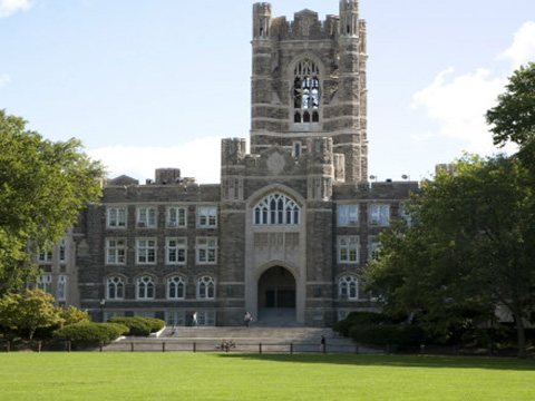 Keating Hall in Sping