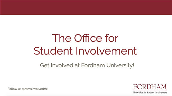 The Office of Student Involvement
